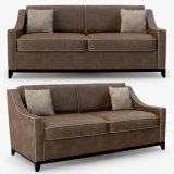 Sofà personalizzato del tessuto di alta qualità della mobilia del salone (HD544)