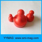 多彩な高品質ボードのためのプラスチック磁気押しピン