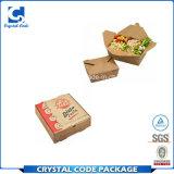 Natürliches mehrfachverwendbares rechteckiges Nahrungsmittelkasten-Verpacken