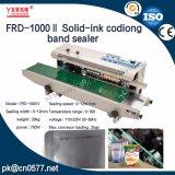 Sigillatore continuo automatico della fascia di codificazione della data dell'Solido-Inchiostro per il sacchetto
