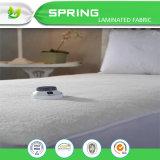 La cubierta de base ajustada protector impermeable de la hoja del colchón de la toalla de Terry clasifica el colchón