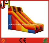 Diapositiva de agua inflable del solo carril colorido para la venta