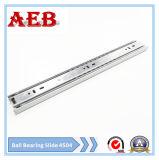 2017furniture는 냉각 압연한 강철을 Aeb4504-500mm 스테인리스 볼베어링 서랍 활주를 위해 선형 3개 매듭 주문을 받아서 만들었다