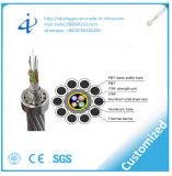 ISO9001の安い価格G652D 24のコアファイバーの光ケーブルOPGW