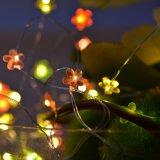 2017 대중적인 꽃 술병 코르크 구리 끈 빛