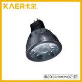 5W MR16 de Hoge LEIDENE van de Macht LEIDENE van het Aluminium Kop van de Lamp