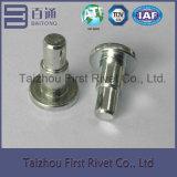 rebite de aço contínuo do ombro da cor do zinco do branco de 8.9X23mm para embreagens