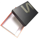 Firmenzeichen-silberner heißer stempelnder Fußleisten-Verpackungs-Geschenk-Kasten