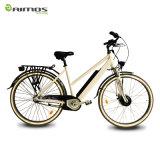 先の市道の練習の自転車