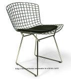 Fio de metal ao ar livre da mobília do restaurante clássico moderno que janta a cadeira de jardim