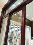 Woodwin hochwertige doppelte ausgeglichenes Glas-spurlos Schiebetür für Küche