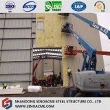 Alto gruppo di lavoro d'acciaio di aumento con l'isolamento delle lane di vetro