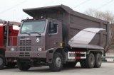 Camion à benne basculante d'exploitation de la tonne 6X4 de Sinotruk HOWO 50 à vendre