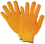 Wholesale Ship (61001)のための産業Safety Knitted White Cotton Hand Work Gloves
