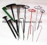 지표 식피 또는 위드 매트 또는 조경 직물을%s 강철 G 모양 핀