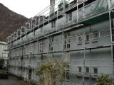Steel Layher Speedy Facade Scaffolding for Easy Set up