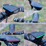 LED USB recarregável farol cabeça luz bicicleta flash