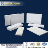 Alto Hardness Alumina Ceramic Tile Sheet con Excellent Wear Resistance