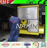 De mobiele Zuiveringsinstallatie van de Olie van de Transformator van het Type Vacuüm met Aanhangwagen (1800L/H)