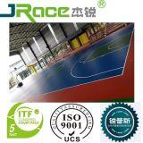 Fußboden-Lack-Sport-Fußboden-Oberflächen-im Freien rutschfester konkreter Tennis-Gerichts-Fußboden-flüssiger Plastiküberzug