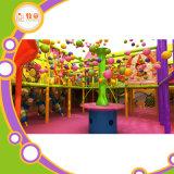 Corrediça interna macia pré-escolar da fibra de vidro do projeto do campo de jogos dos miúdos
