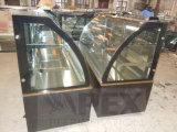 Spitzen-elektrischer Kuchen-Verkaufsmöbel-Kühlvorrichtung-Schaukasten mit LED-Licht