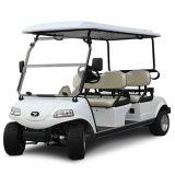 Carro de golf con el panel solar 4seat