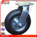 Roda de borracha pneumática resistente do ar do pneumático