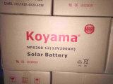 12V 200ah Leitungskabel-saure tiefe Schleife-Gel-Solarbatterie für Telekommunikation, Sonnensystem