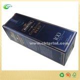 Малая коробка вина картона с штемпелевать фольги (CKT-CB-726)