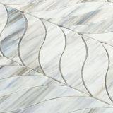 Mattonelle di mosaico di vetro grige del pavimento della decorazione del raggruppamento da vendere