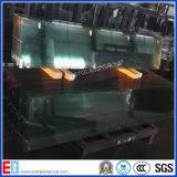 Vidrio de hoja claro modificado para requisitos particulares de la talla del corte del vidrio de hoja de 1-2m m para el marco de la decoración/de la foto