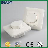 Commutateur de régulateur d'éclairage du large éventail DEL avec la molette rotatoire