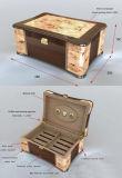 Burl madera humidor de puros (HMD02)