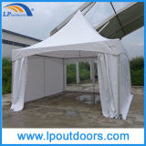 5X5m Aluminum High Peak Pagoda Tension Frame Wedding Tent