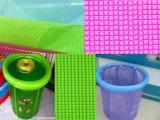 최신 판매 투명한 PVC 방수포 -1000*1000 18*18 620GSM