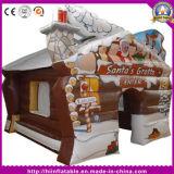Bestes Verkaufs-Weihnachtsaufblasbares Sankt-Schloss im Freien für Weihnachtsdekoration