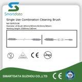 De un solo uso Endoscopia cepillo, cepillo de limpieza desechables Combinación