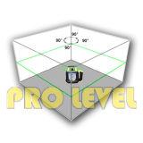 Nível giratório deNivelamento eletrônico do laser da elevada precisão verde do laser