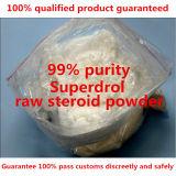 Poeder van Methyldrostanolone Superdrol van het Hormoon van het Verlies van het Gewicht van de Aanwinst van de Spier van de Zuiverheid van 99% Steroid