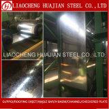 Bobina de acero galvanizada sumergida caliente del espesor 0.12~1.2m m para el edificio