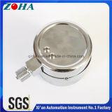 40のKpa/4000mm H2Oの鋼鉄ケースのカプセルマイクロ圧力圧力計の直径63mm/75mm