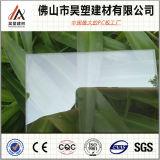 folha desobstruída do policarbonato da película do PC do revestimento de 1.0mm Uv-Anti para a casa verde e a vertente da criação de animais