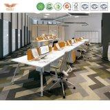 L 모양 반환 Fsc에 의하여 증명되는 사무실 테이블 (MAKER-MD18)를 가진 형식 사무용 가구 멜라민 사무실 책상