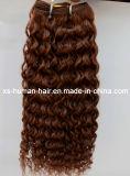 De bonne qualité aucune trame brésilienne en gros de rejet de cheveux humains