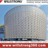 Zusammengesetztes Aluminiumpanel für Gebäude-Äußer-Dekoration