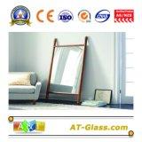 het Kleden zich van de Spiegel van de Badkamers van 1.88mm de Zilveren Spiegel van de Spiegel van het Meubilair van de Spiegel