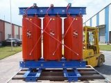 100kVA Transformateur de type sec Transformateur haute tension de sortie 10kv