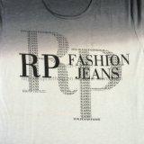 Vêtements blancs de teinture d'IMMERSION d'été dans le T-shirt Fw-8678 de tricots de sport de l'homme