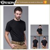 Rápido-Sequedad respirable de 3colors Esdy que acampa yendo de excursión las camisetas tácticas del combate calientes